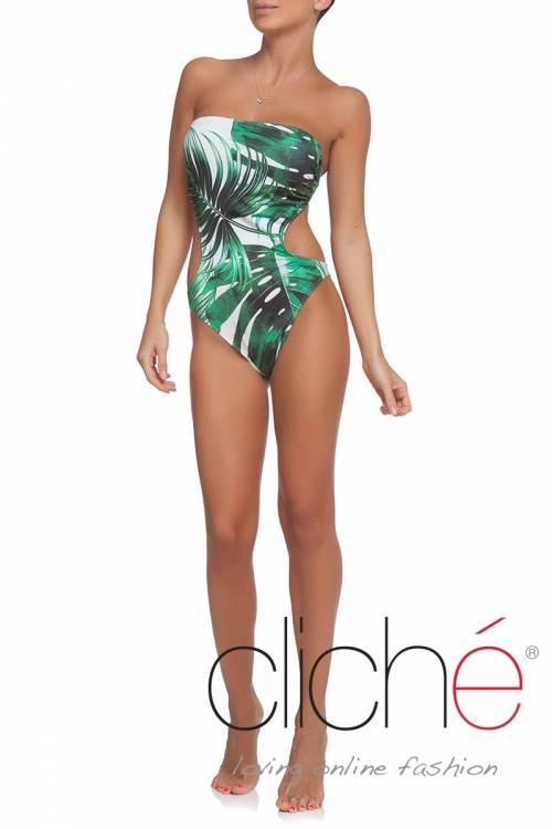 "Swimsuit ""Palm leaves"""
