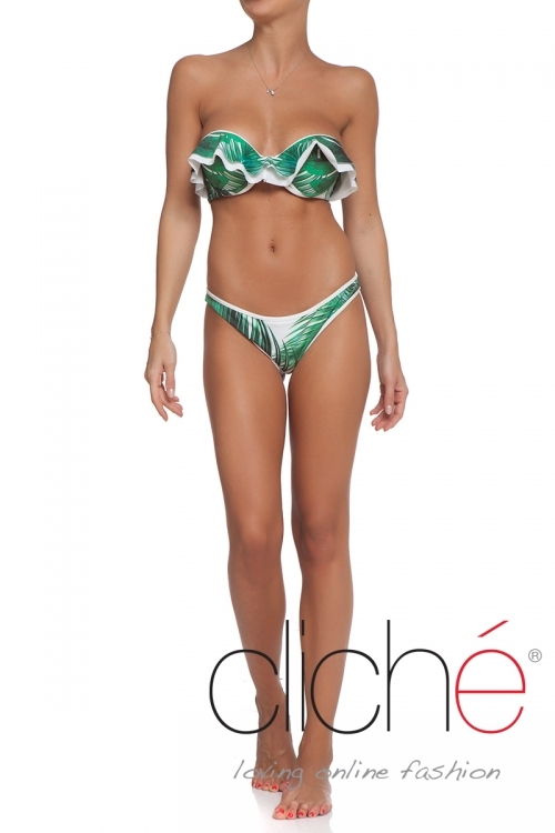 "Swimset ""Palm leaves"""