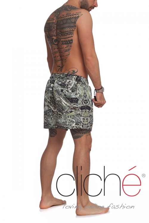 "Men beachshorts ""Marble"""