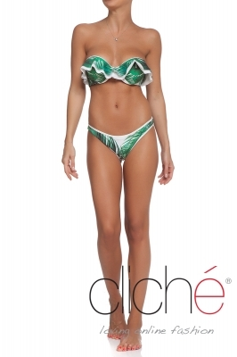 GREEN SHADOWS underwire bikini set