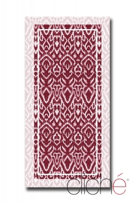 BURGUNDY Beach towel