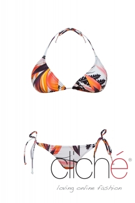 DESERT ISLAND side tie bikini set