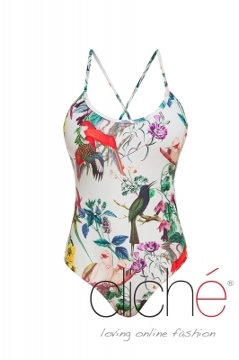 BOTANICAL cross back one piece