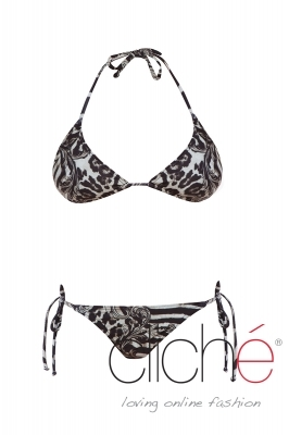 SAFARI side tie bikini set