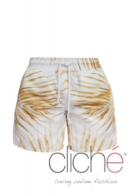 TROPICAL GOLD beach shorts