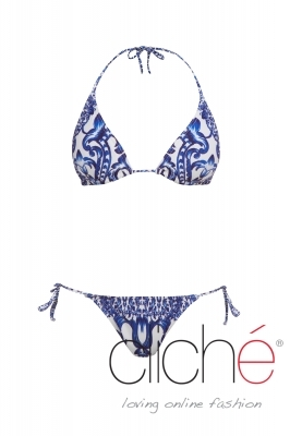 MOROCCO side tie bikini set